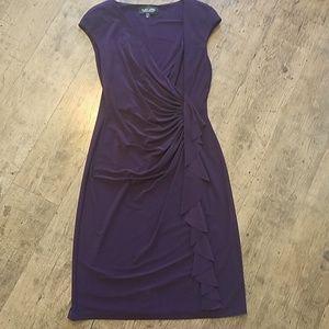 Plum Evan Picone Dress